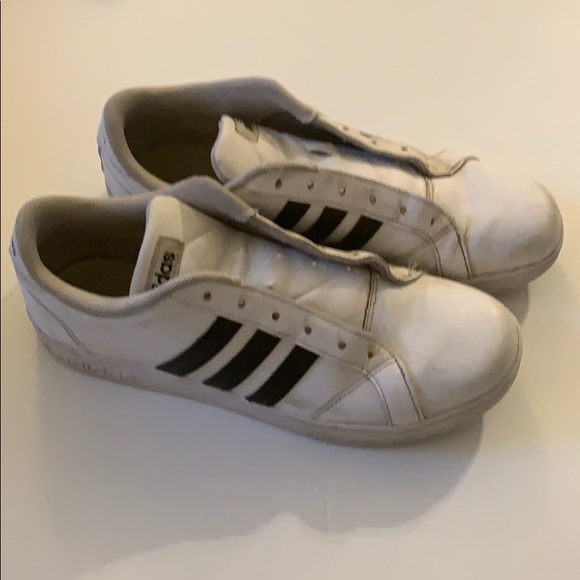 adidas Other - Adidas Classic Grand Court Sneakers Boys Size 6